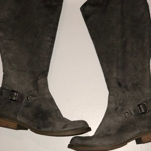 Old Navy wide calf knee boots